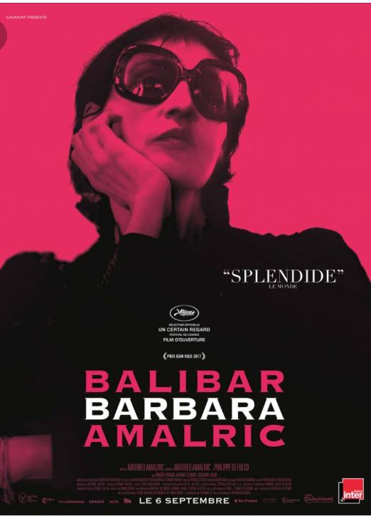 """""""Barbara"""" - Mathieu Amalric (2017)"""