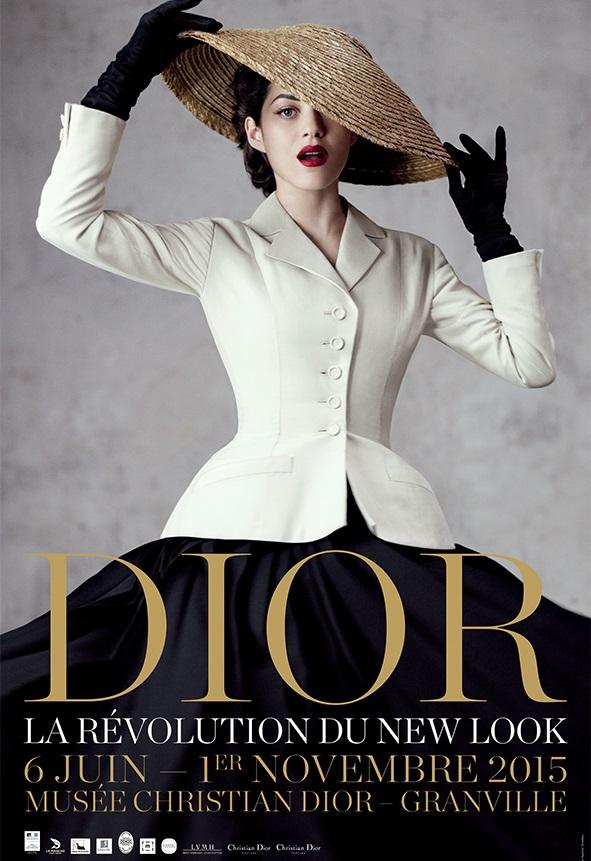 """Musée Christian Dior - """"La Révolution de New Look"""" (2015)"""